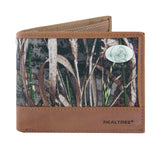 Florida State Seminoles Realtree Max-5 Camo & Leather Bifold Concho Wallet - NCAA