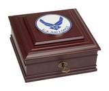 U.S. Air Force Wings Medallion Executive Desktop Box - Allied Frame™