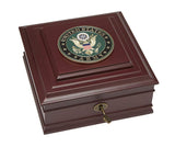 U.S. Army Medallion Executive Desktop Box - Allied Frame™