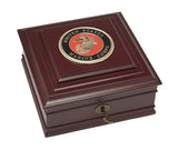 U.S. Marine Corps Medallion Executive Desktop Box - Allied Frame™