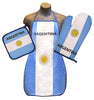 Argentina Flag Kitchen & BBQ Set
