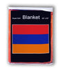 Armenia Flag Fleece Blanket - 50