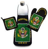 U.S. Army Flag Kitchen & BBQ Set