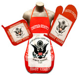 U.S. Coast Guard Flag Kitchen & BBQ Set