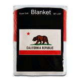 California State Flag Fleece Blanket - 50