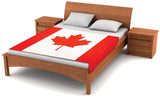 Canada Flag Fleece Blanket 80