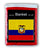 Ecuador Flag Fleece Blanket - 50