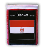 Egypt Flag Fleece Blanket - 50