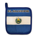 El Salvador Flag Kitchen & BBQ Set