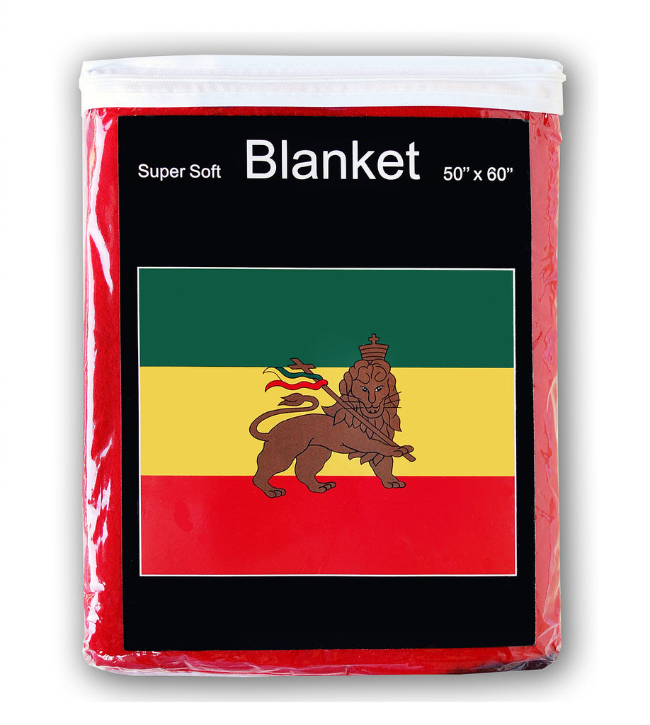 Ethiopia Flag Fleece Blanket - 50