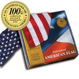 Embroidered Cotton American Flags *100% MADE IN U.S.A.* - Allied Flag™