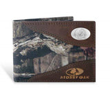 Florida State Seminoles Zep-Pro Mossy Oak Nylon and Leather Bifold Concho Wallet - NCAA