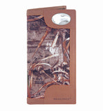 Georgia Southern Eagles Realtree Max-5 Camo & Leather Roper Wallet - NCAA