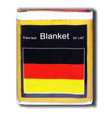 Germany Flag Fleece Blanket - 50