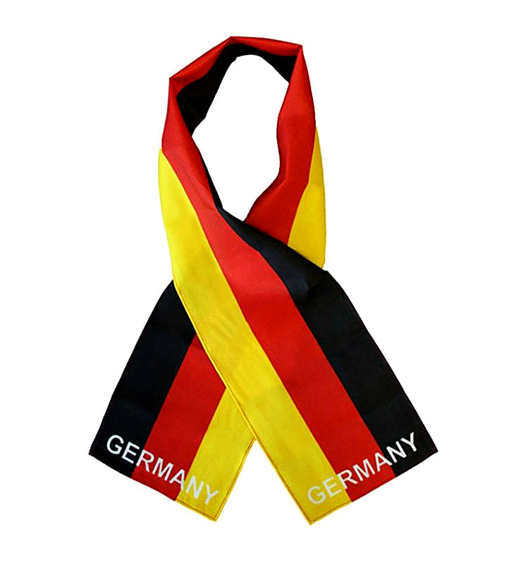 Germany Flag Print Scarf