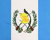 Guatemala Flag Fleece Blanket - 50