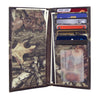 Alabama Crimson Tide Mossy Oak Camo & Leather Roper Wallet w/ Concho - NCAA