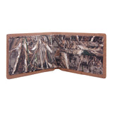 Oklahoma State Cowboys Bifold Realtree Max-5 Camo & Leather Wallet - NCAA