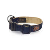 Auburn Tigers Ribbon Dog Collar - NCAA