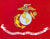 U.S. Marine Corps Flag Fleece Blanket - 50