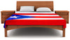 "Puerto Rico Flag Fleece Blanket 80""x50"" - Fuzzy Flags™"