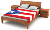 Puerto Rico Flag Fleece Blanket 80