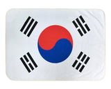 South Korea Flag Fleece Blanket - 50