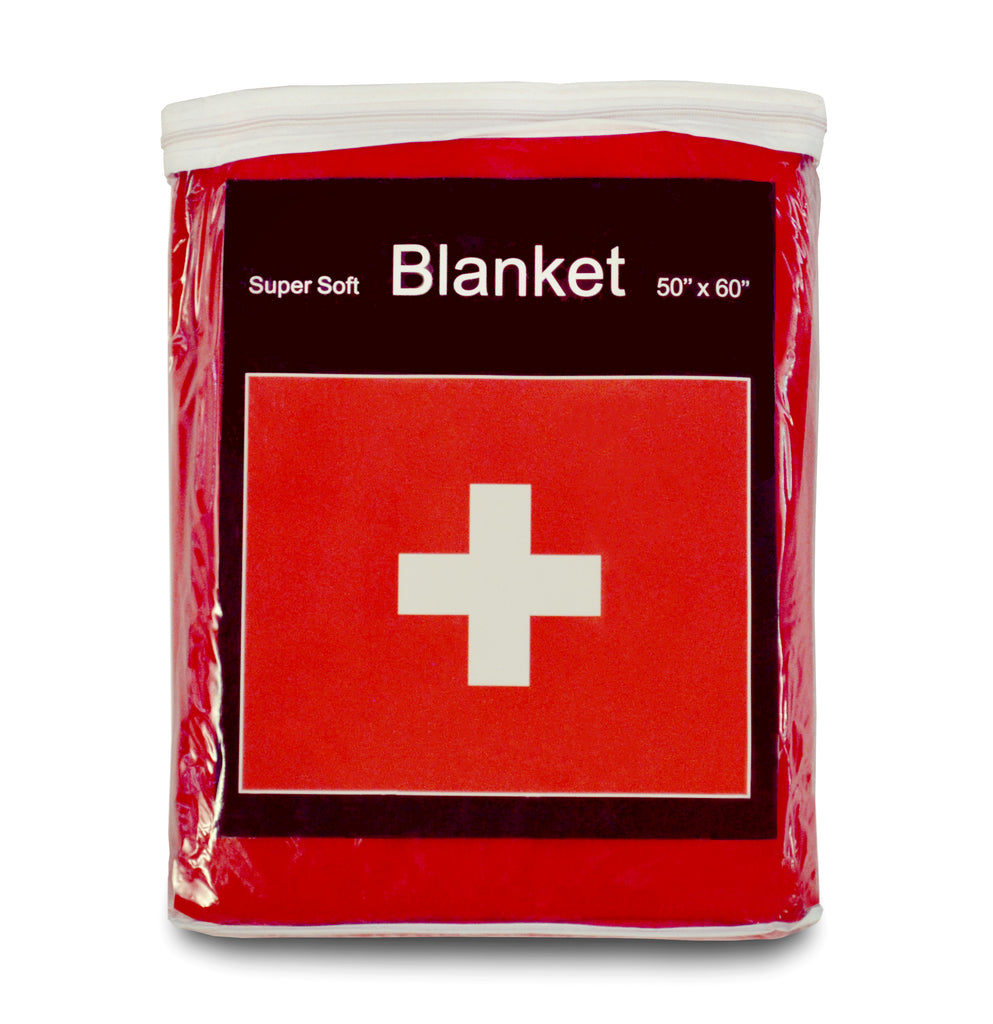 Switzerland Flag Fleece Blanket - 50