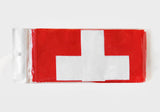 Switzerland Flag Print Scarf