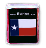 Texas State Flag Fleece Blanket - 50