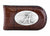 Alabama Crimson Tide Crocodile Leather Money Clip  - NCAA