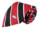 Arkansas Razorbacks Tie, Pocket Square & Cufflinks Box Set