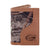 Florida Gators Trifold Realtree Max-5 Camo & Leather Wallet - NCAA
