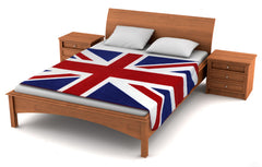 "Union Jack Fleece Blanket 79""x49"" - Fuzzy Flags™"