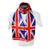 Union Jack Flag Print Scarf