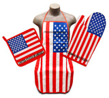 United States Flag Kitchen & BBQ Set