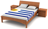 Uruguay Flag Fleece Blanket 80
