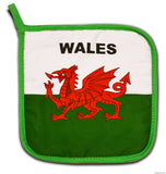 Wales Flag Kitchen & BBQ Set
