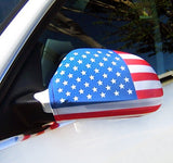 Car Mirror Covers - U.S. American Flag