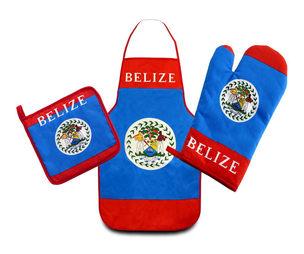 Belize Flag Kitchen & BBQ Set
