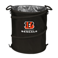 Cincinnati Bengals 3-in-1 Collapsible Cooler, Trash Can or Laundry Hamper - NFL