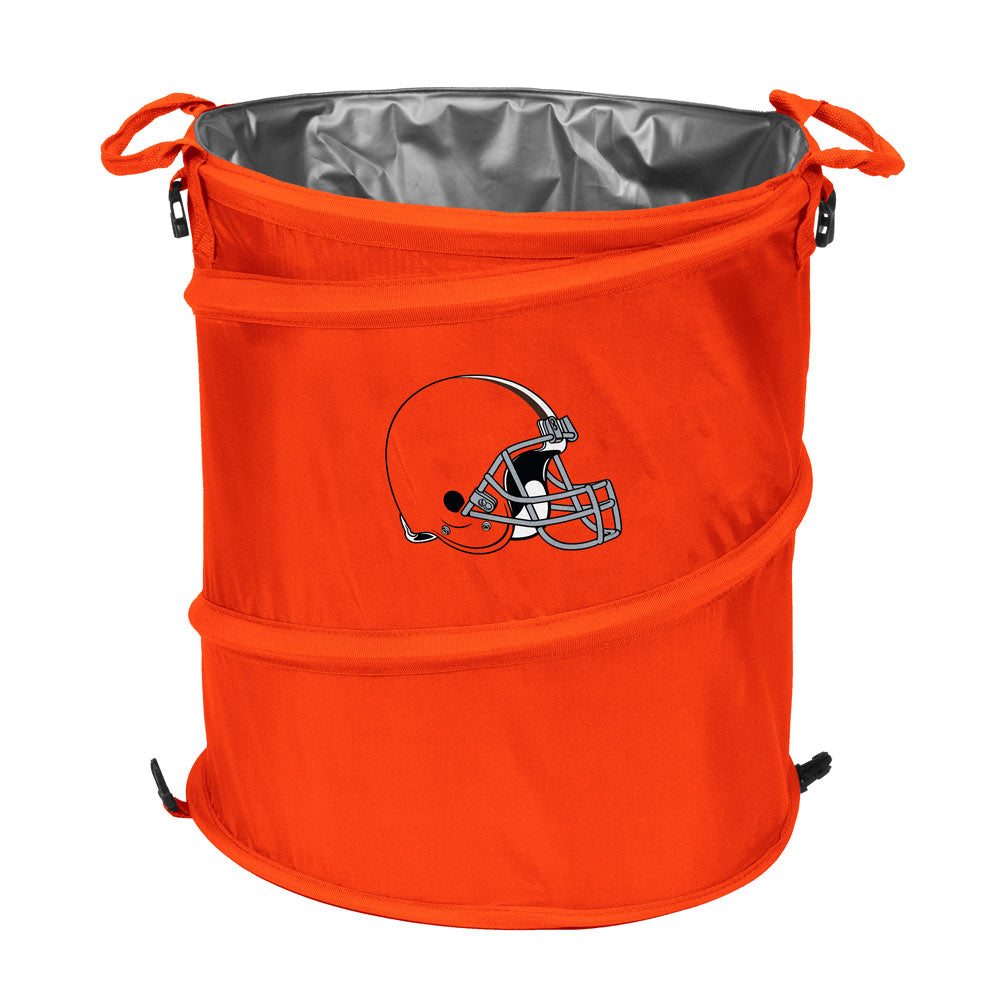 Cleveland Browns 3-in-1 Collapsible Cooler, Trash Can or Laundry Hamper - NFL
