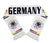 Germany National Team Soccer Scarf (Alternate) - FIFA