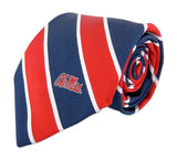 Ole Miss Rebels Tie, Pocket Square & Cufflinks - NCAA