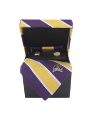 East Carolina Pirates Tie, Pocket Square & Cufflinks Box Set - NCAA