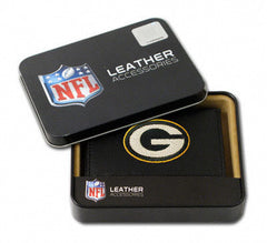 Green Bay Packers Embroidered Trifold Wallet