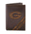 Georgia Bulldogs Debossed Leather Trifold Wallet - NCAA