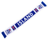 Iceland National Team Soccer Scarf - FIFA