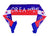 South Korea National Team Soccer Scarf (Alternate) - FIFA