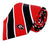 Georgia Bulldogs Tie, Pocket Square & Cufflinks Box Set